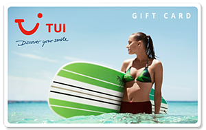 TUI Travel gift card - 2
